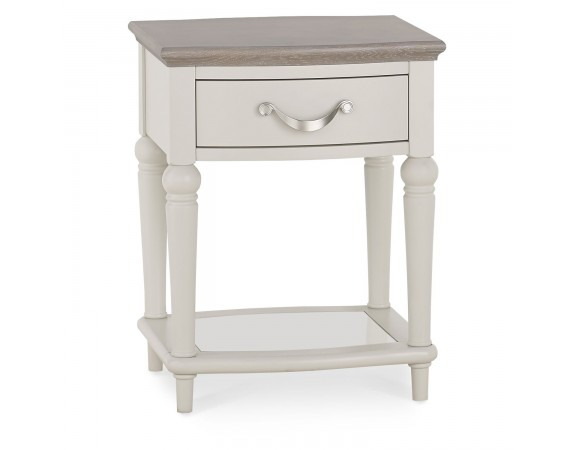 Richmond French Washed Oak Top Side Table