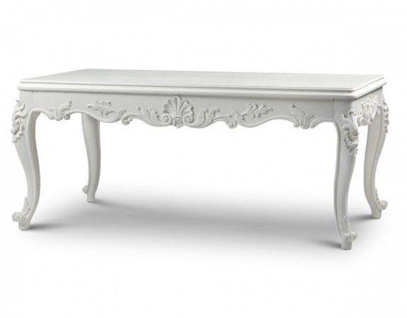 Sophia classic french style dining table french dining for Classic dining tables and chairs
