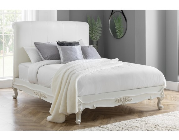 The London Leather French Contemporary Bed