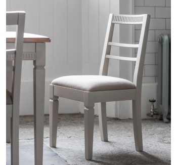 Bronte Dining Chair Taupe (2pk)