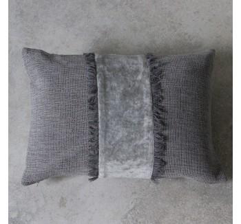 Ariel Silver Cushion