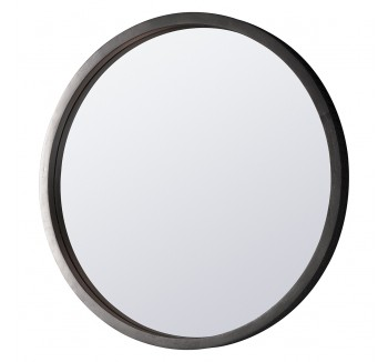 Manhattan Contemporary Charcoal Mirror