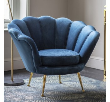 Rivello Armchair Ink Blue