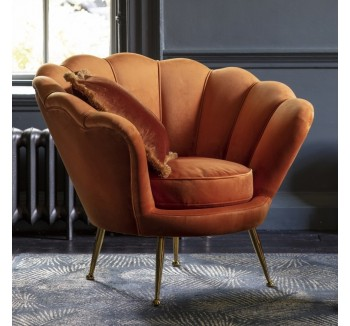 Rivello Burnt Orange Armchair