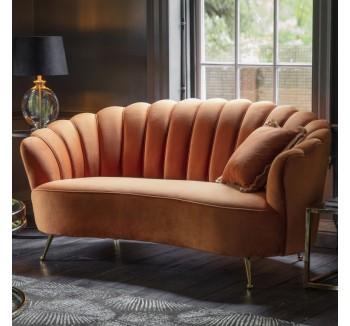 Rivello Burnt Orange Sofa
