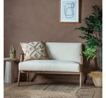 French Contemporary Cream Sofa