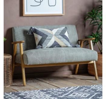 French Contemporary Grey Sofa