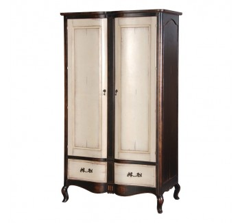 Augustus French Painted Armoire