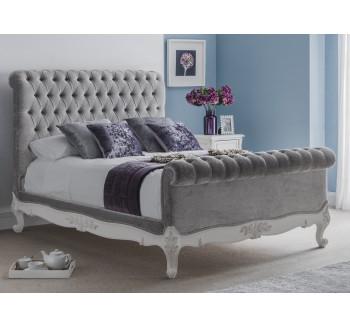 Beaulieu Velvet Chesterfield Upholstered Bed