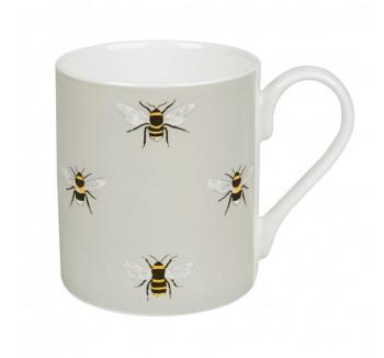 Bees Coloured Mug