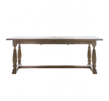 Camille Extended Weathered Dining Table