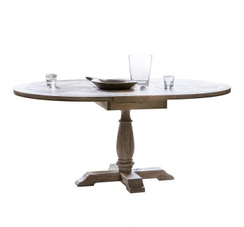 Camille Round Extending Dining Table