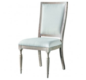 Camille French Weathered Dining Chair