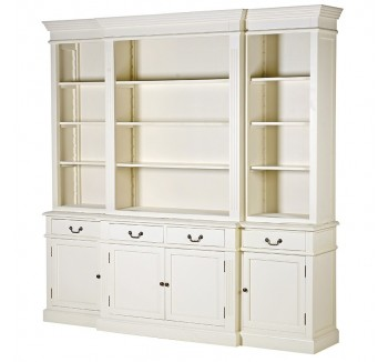 Chantilly French Extra Large Cream Cabinet