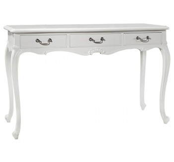 Charlotte French Painted Ivory Dressing Table