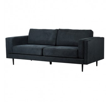 Cosmic Grey 3 Seat contemporary Style Sofa