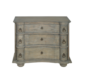 Dorset French Commode Finished in Old Wood Pearl