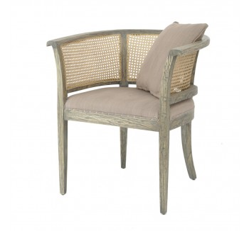 Dorset French Rattan Back Tub Chair