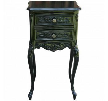 Rococo Noir Bedside Table