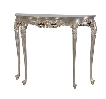 Fleur Silver French Hall / Console Table