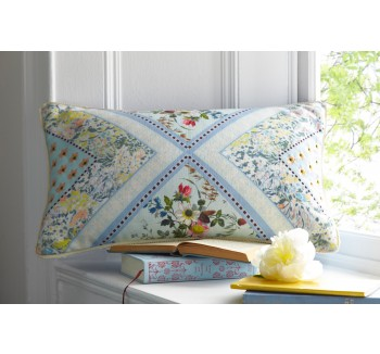 Oasis Patchwork Cushion