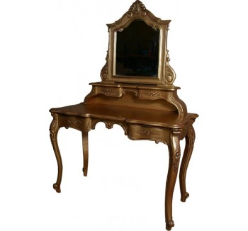 Rococo Gold French Dressing Table
