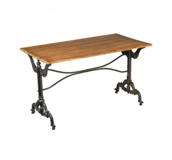 Industrial kitchen contemporary dining table