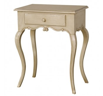 Loire Light Grey French Low Side Table