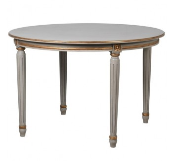 Loire Gold Round Dining Table