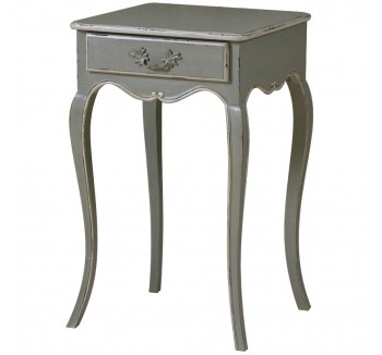 Lyon One Drawer French Bedside Table