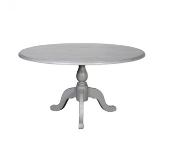 Chamonix Grey Round Dining Table