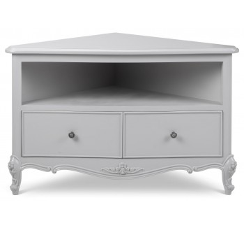 Parisian Grey French Style TV Corner Unit