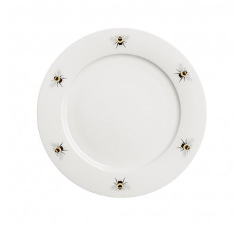 Bees Dinner Plate