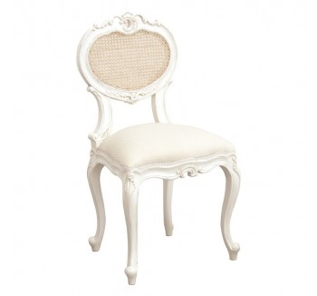 Provencale Antique White French Bedroom Chair