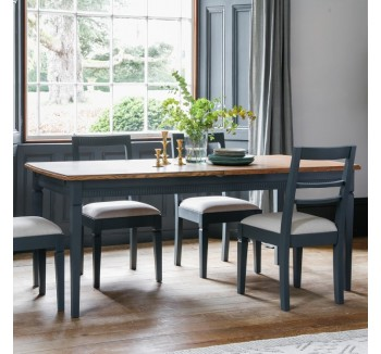 Storm Grey Extending Dining Table
