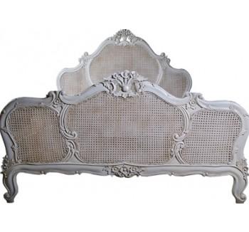 Versailles Louis XV Rattan Bed
