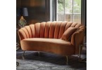 Rivello Burnt Orange Sofa