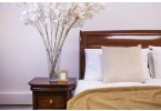 Antoinette French Low End Bed and Bedside