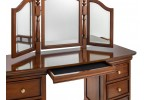 Antoinette French Sleigh Dressing Table Hidden Drawer