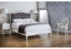 Sophia French Style Carver at home with our Beaulieu Upholstered bed