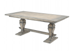 Dorset Contemporary Old Wood Pearl French Dining Table