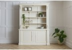 Louis French Large Bookcase finished in chalk