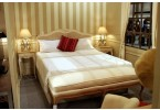 Lyon Bedside Table - Coupled with Louis French Rattan Bed