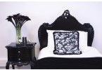 Rochelle Noir French Bed