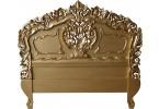 Rococo Antique Gold Headboard