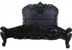 Rococo Noir French Style Bed