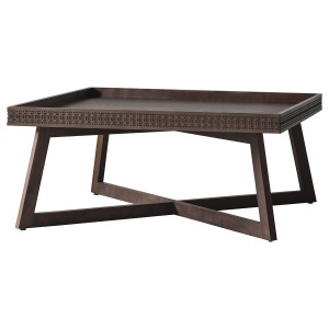 Bronte 1 Drawer Coffee Table Storm Grey