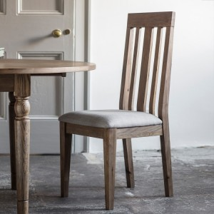 French Grey Dining Chair