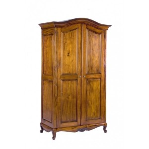 Antoinette French Sleigh Double Wardrobe