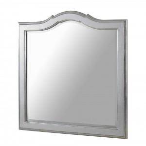 Square Champagne Wall Mirror